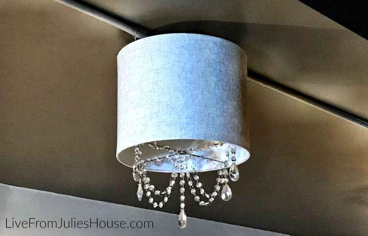 Diy Drum Chandelier Live From Julie S House